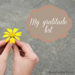 52 List Gratitute