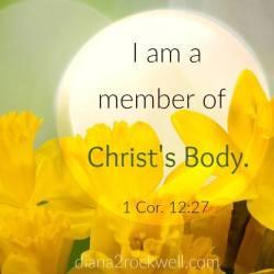 I'm a Member of Christ's Body