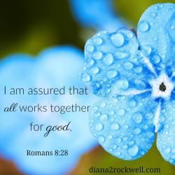 I am assured all works together for good.