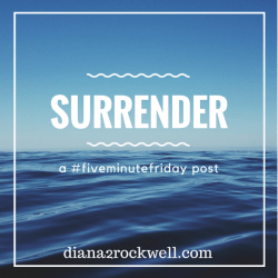 Surrender Your Life.
