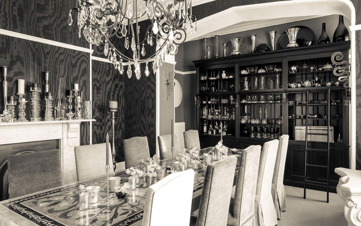 Interior Design - Victorian villa dining room