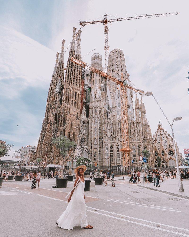 Sagrada Familia Instagram Spot