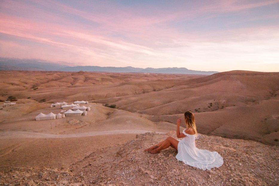 Sunset Scarabeo Camp