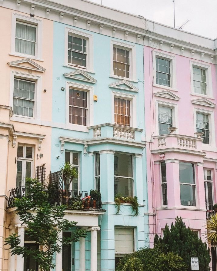 Instagram spots in Notting Hill