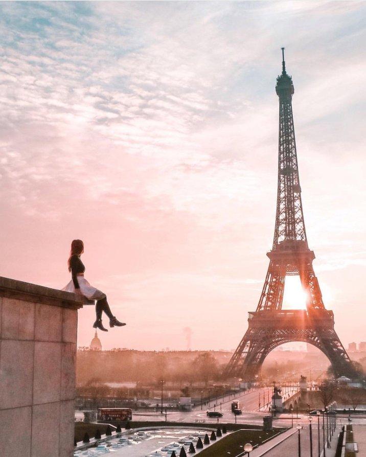 Sunrise Trocadero Paris