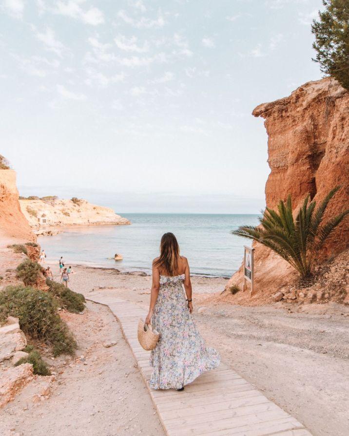 Sa Caleta Beach