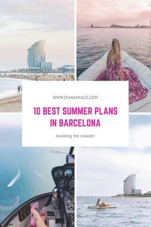 Best summer plans in Barcelona