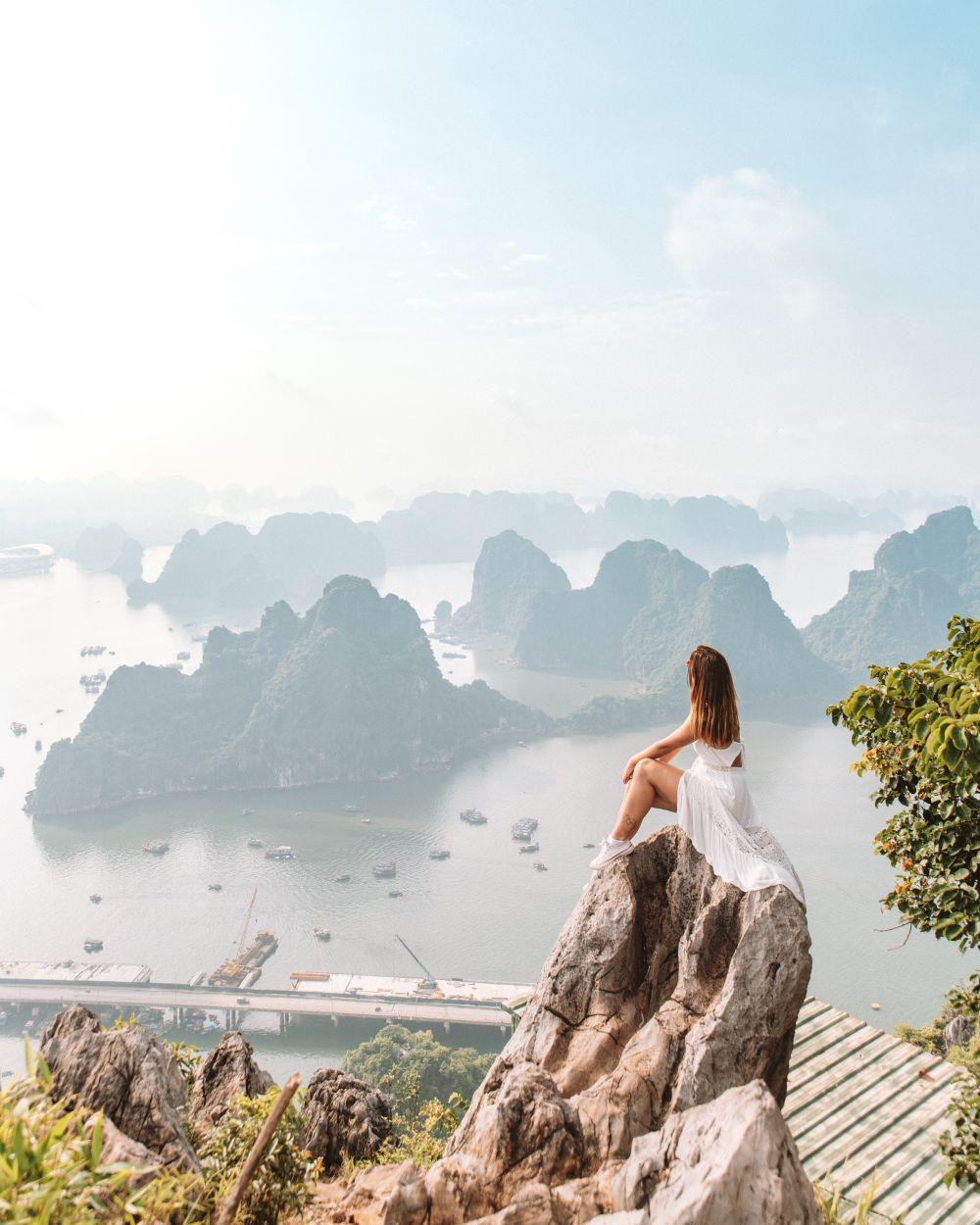 Bai Tho Mountain Ha Long Bay