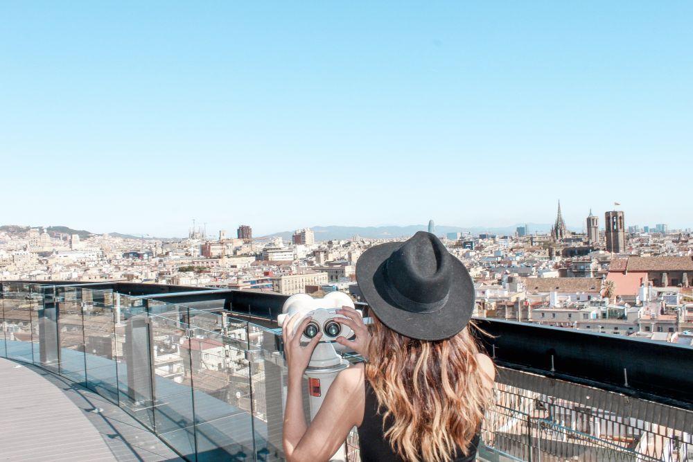 Hotel rooftop Barcelona