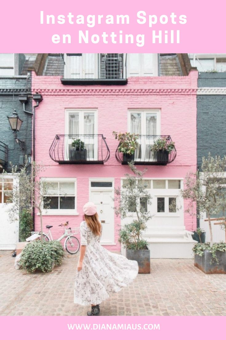 Instagram Spots en Notting Hill