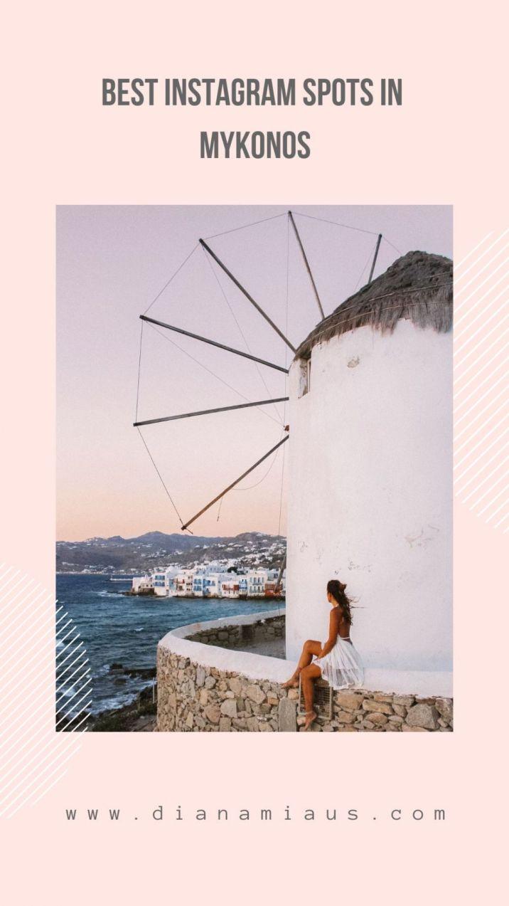 instagram spots mykonos