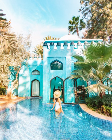 Marrakech luxuy hotel