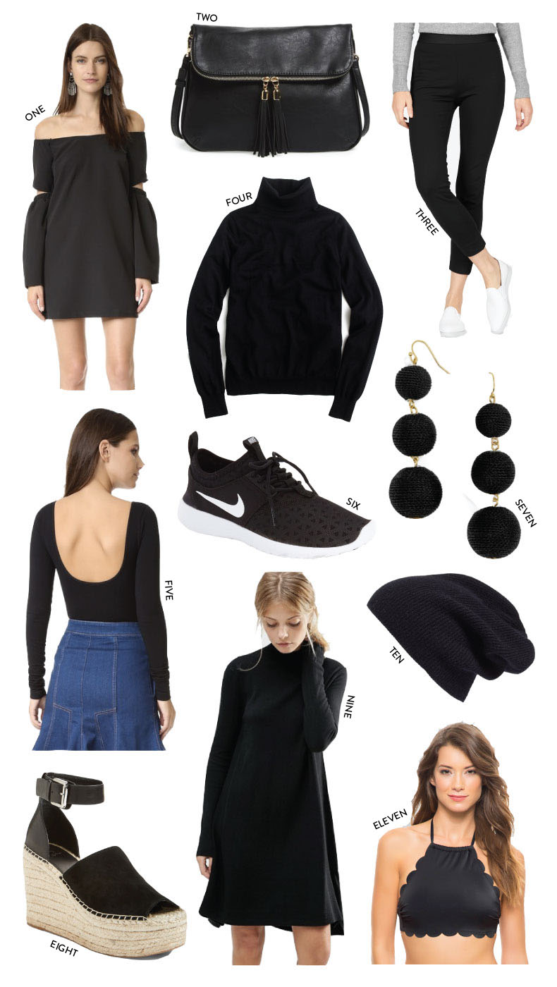 fashion blogger diana pearl of pearl girl shares her favorite black outfit ideas