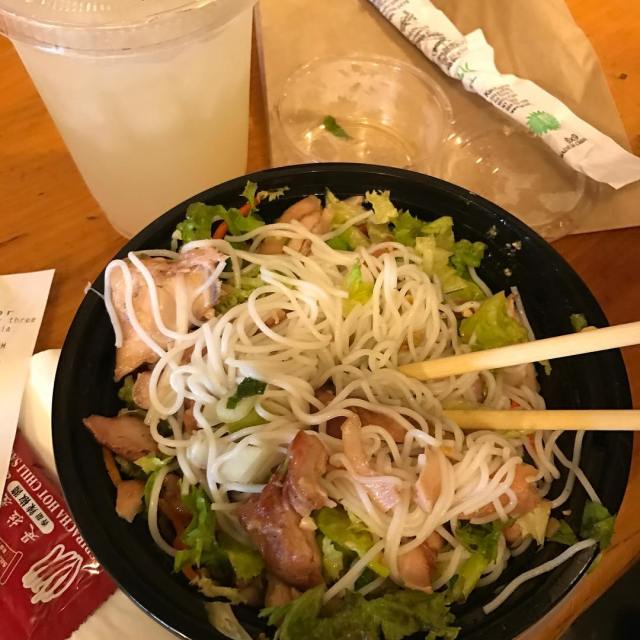 Five spice chicken  vermicelli outthedoor ferrybuilding sanfranciscoing diateit dianderthal