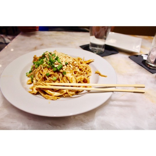 When in Vegas NY order the peanut noodles at Chinhellip
