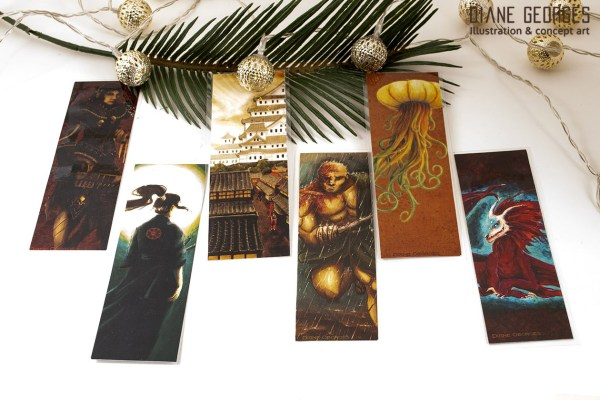 Laminated bookmark assortment