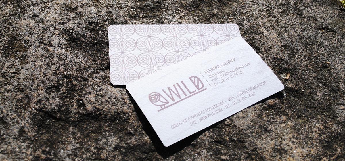 carte visite papier