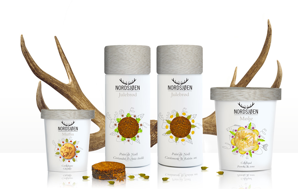 Nordjoen packaging
