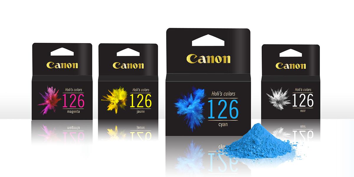 gamme holi's color, cartouche d'encre premium