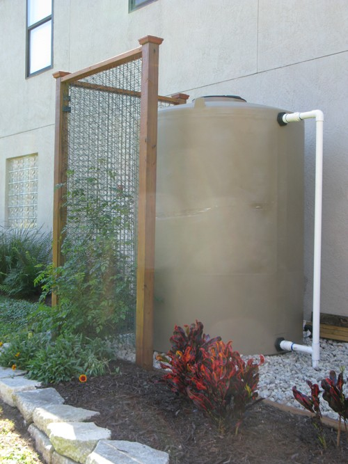 865 gallon rain barrel