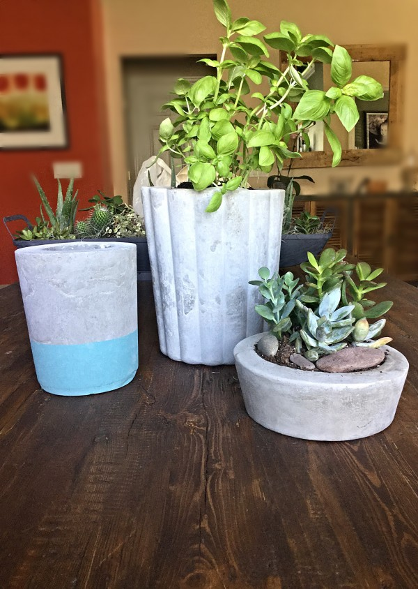 diy cement project