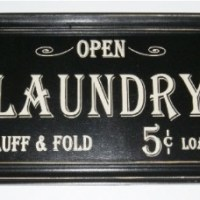 Laundry Room Signs Under $20
