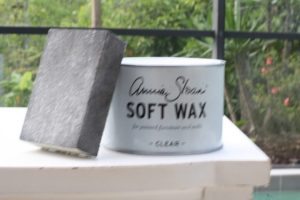 soft wax for chalk painted furniture