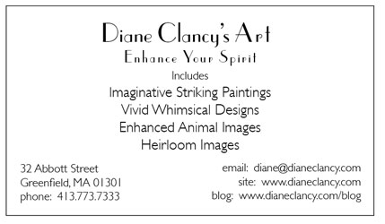 Art Biz Card back