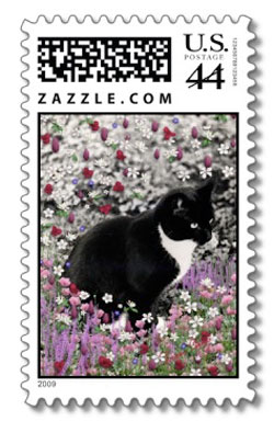 Freckles in Flowers II Postage