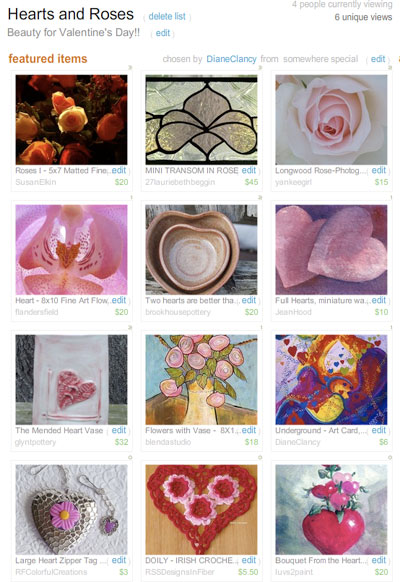 Hearts & Roses Treasury