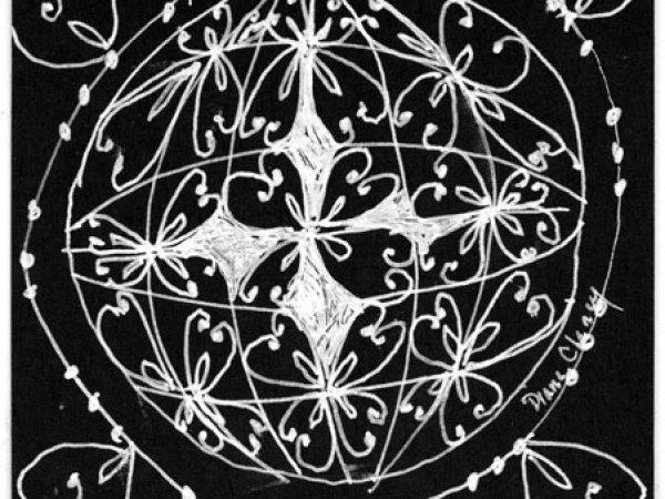 Rose in a Sphere