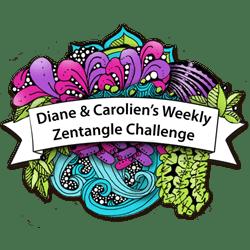 Diane & Carolien's Weekly Zentangle Challenge