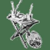 Miniatuur accessoires: Atelierset