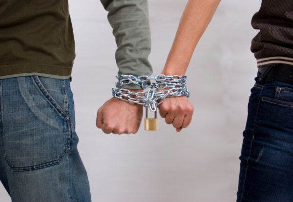 Image result for chained together