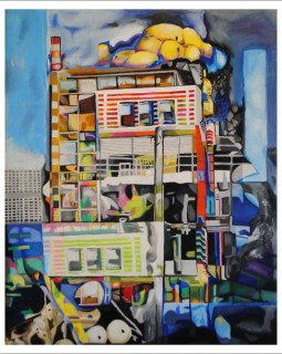 Original Art titled Pittsburgh by Diane Staver.