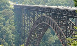 A Scaredy Cat's Guide to Travel: Image of the New River Gorge Bridge by Patrick Conrad.