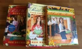 My 20 favorite Pioneer Woman recipes: image of 3 Pioneer Woman cookbooks
