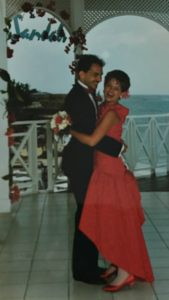 The Good Wife: Image of a young newlywed couple dancing.
