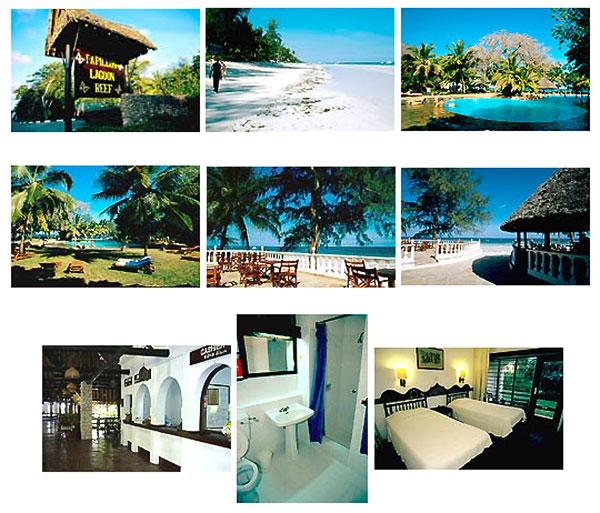 Diani hôtel 3 étoiles Papillon Diani Kenya