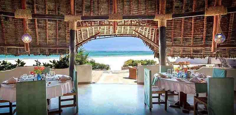 Diani hôtel 4 étoiles Océan Village Kenya