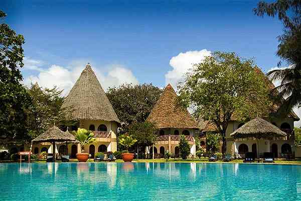 Diani hôtel 4 étoiles Sentido Neptune Paradise Village Diani Kenya