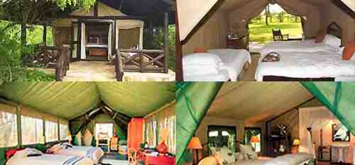 Tented camps - safaris 4jours camps tsavo amboseli