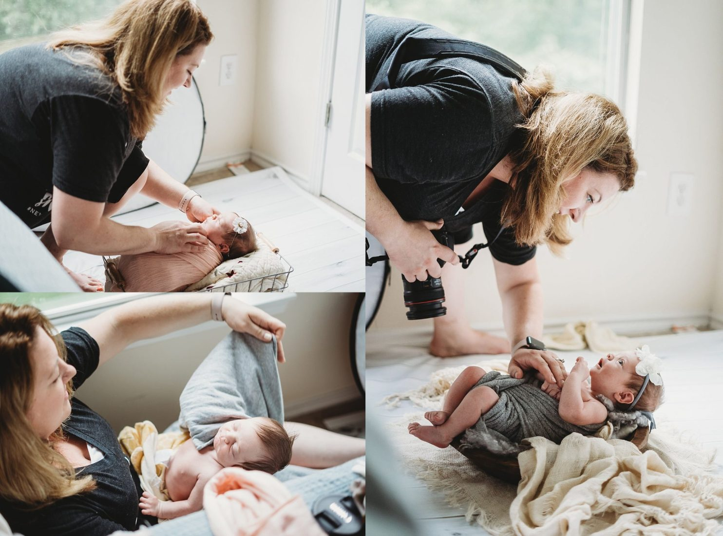 Behind the scene images from Corrina Ann Photography