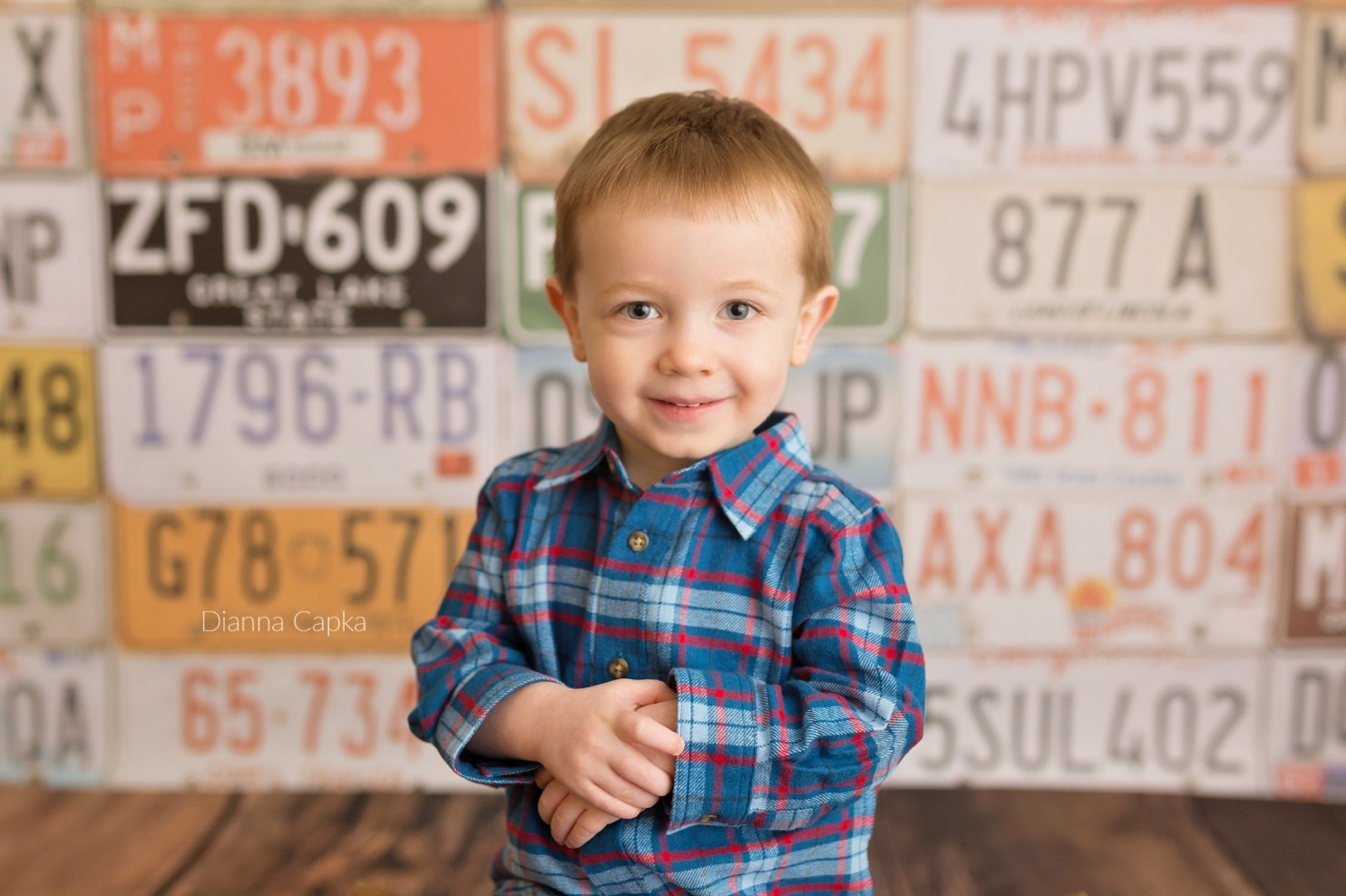 car and motorcycle theme toddler photo session new holland pa photographer