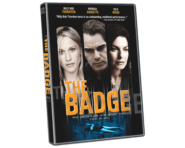 Keyart for home entertainment: The Badge