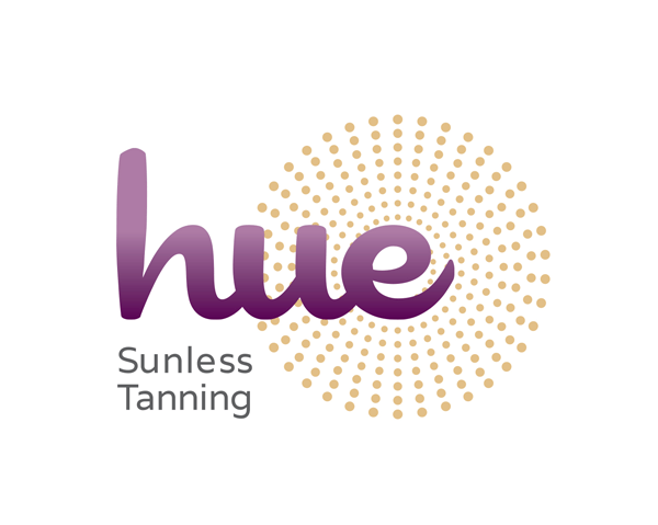 Logo design for Hue Sunless Tanning