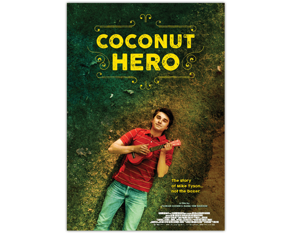 """Coconut Hero"" movie poster"