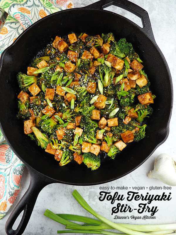 Dinner is ready in a flash when Tofu Teriyaki Stir-Fry is on the menu! This dish is quick and easy to make, so it's a terrific option for busy weeknights. It's vegan and gluten-free.