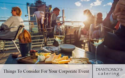 Things To Consider For Your Corporate Event
