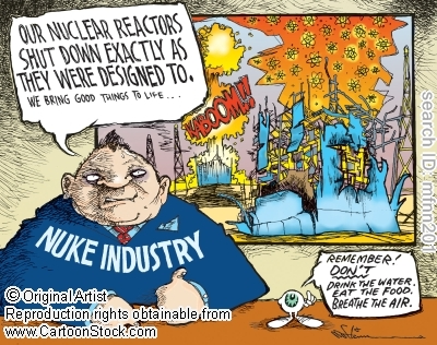 nuclear industry cartoon